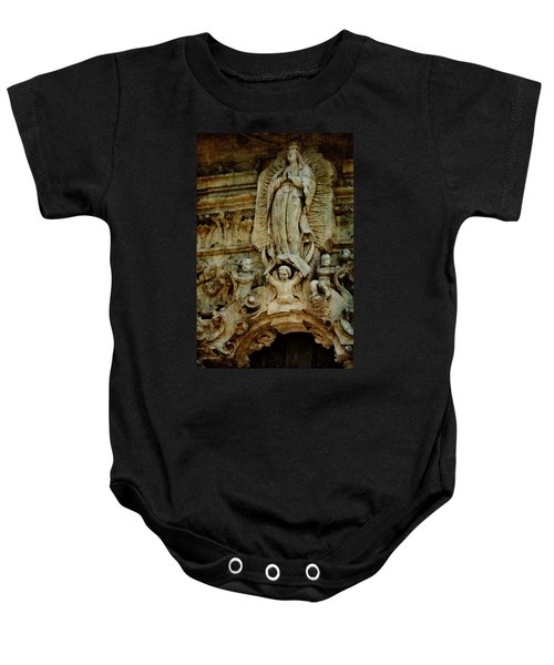 Queen Of The Missions Baby Onesie