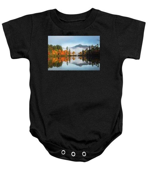Mount Chocorua Fall Reflection Baby Onesie