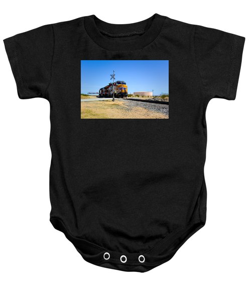 Railway Crossing Baby Onesie