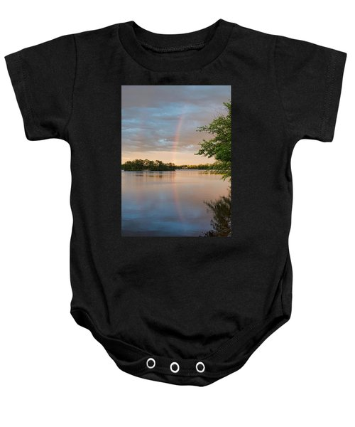 Rainbow After The Storm Baby Onesie