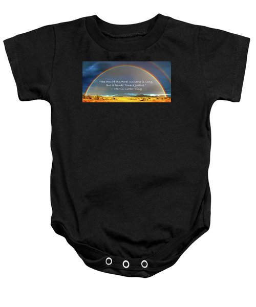 Martin Luther King - Justice Baby Onesie