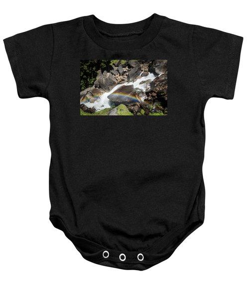 Rainbow At Vernal Falls- Baby Onesie