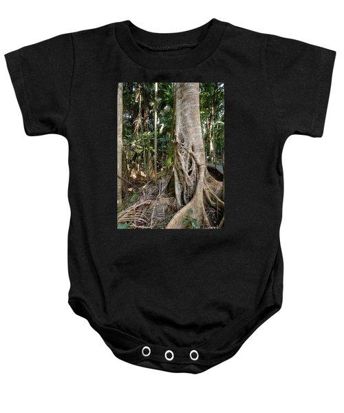 Rainforest Majesty Baby Onesie