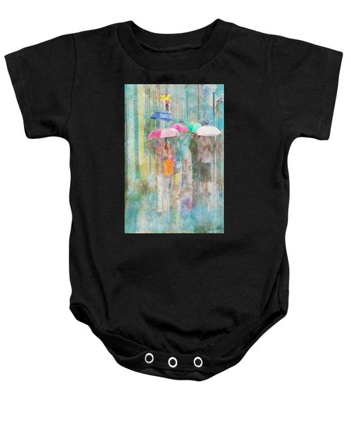 Rainy In Paris 2 Baby Onesie