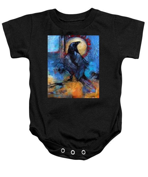 Raven Blue Baby Onesie