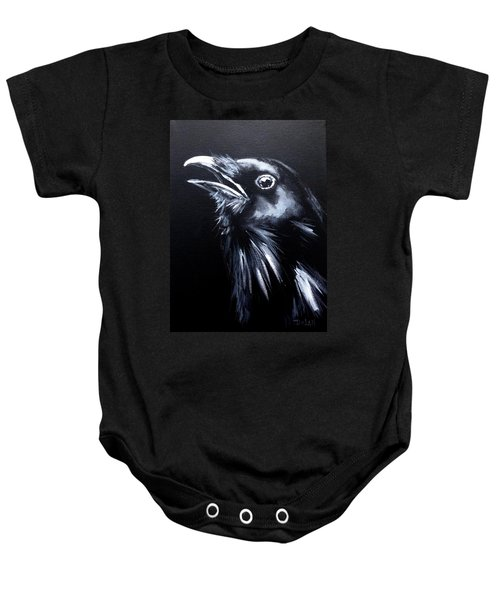 Raven Warning Baby Onesie