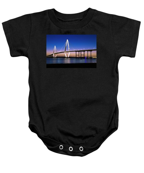 Ravenel Bridge 2 Baby Onesie by Bill Barber
