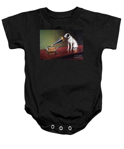 Rca Victor Trademark Baby Onesie