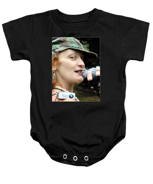 Ready To Play Catch Baby Onesie