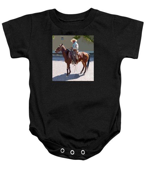 Real Cowboy Baby Onesie