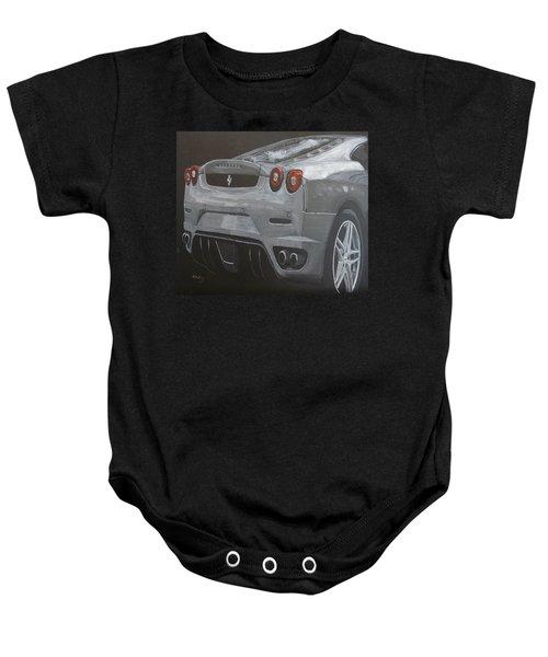 Rear Ferrari F430 Baby Onesie