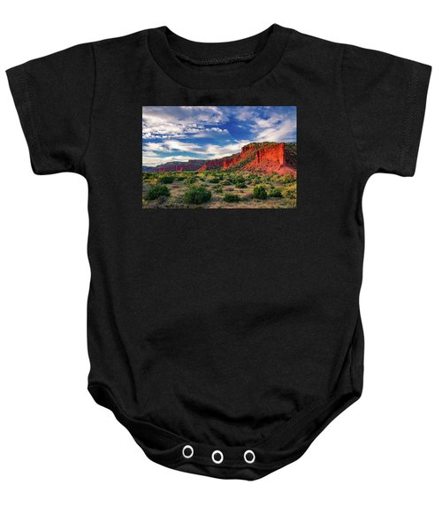 Red Cliffs Of Caprock Canyon 2 Baby Onesie