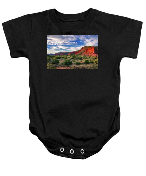 Red Cliffs Of Caprock Canyon Baby Onesie