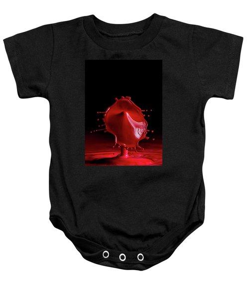 Red Drop Baby Onesie