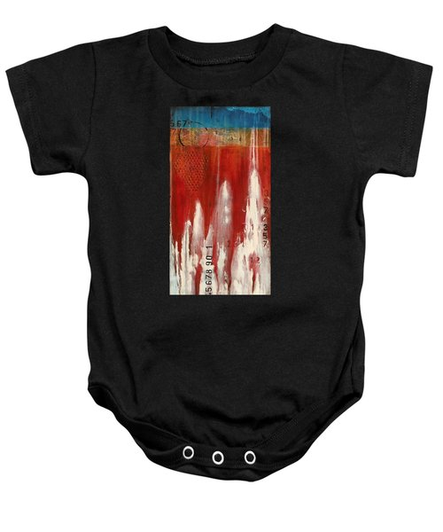 Red Holiday Baby Onesie