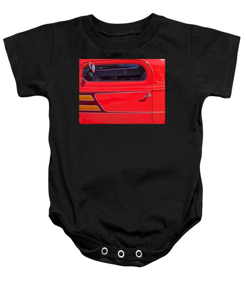 Red Racer Baby Onesie