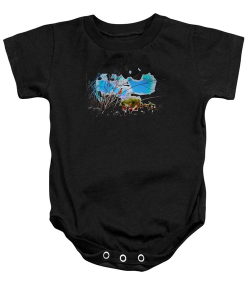 Red Red Robin 3 Baby Onesie