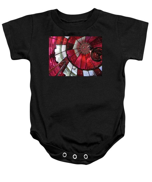 Red Reflections Baby Onesie