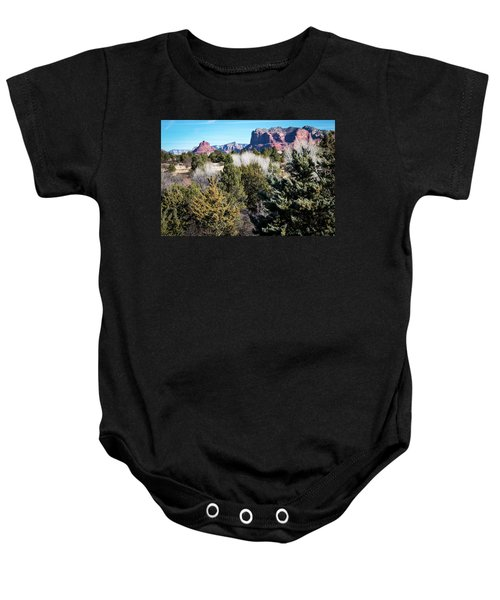 Red Rock Country Baby Onesie