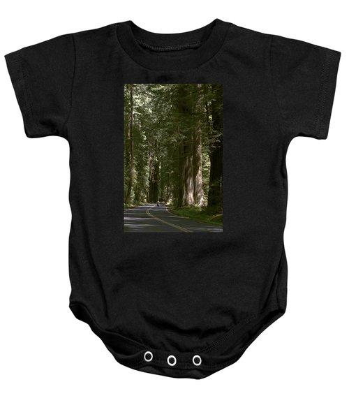 Redwood Highway Baby Onesie