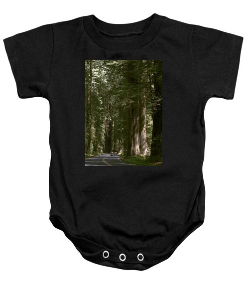 Redwood Highway Baby Onesie