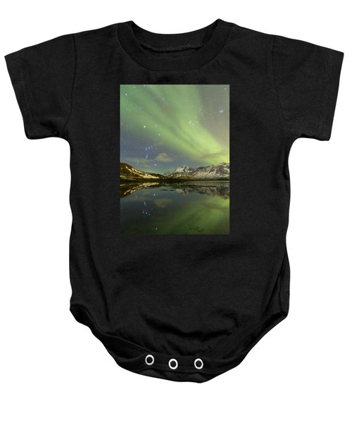 Reflected Orion Baby Onesie
