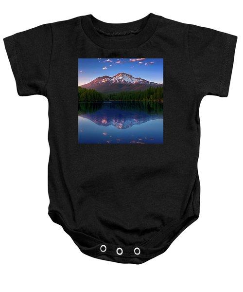 Reflection On California's Lake Siskiyou Baby Onesie
