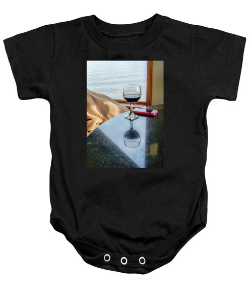 Reflections Lake Superior.... Baby Onesie