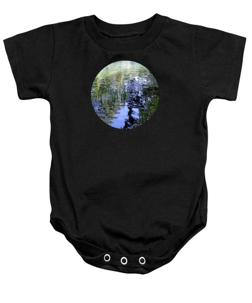 Reflections  Baby Onesie by Mary Wolf