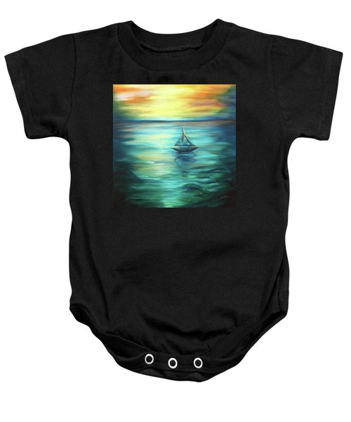 Reflections Of Peace Baby Onesie