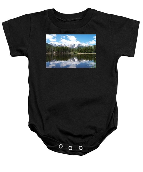 Reflections Of Sprague Lake Baby Onesie