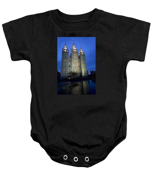 Reflective Temple Baby Onesie