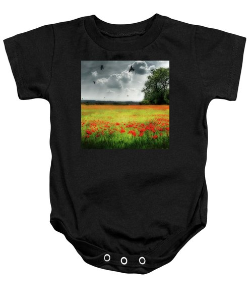 Remember #rememberanceday #remember Baby Onesie