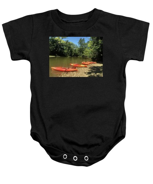 Resting Kayaks Baby Onesie