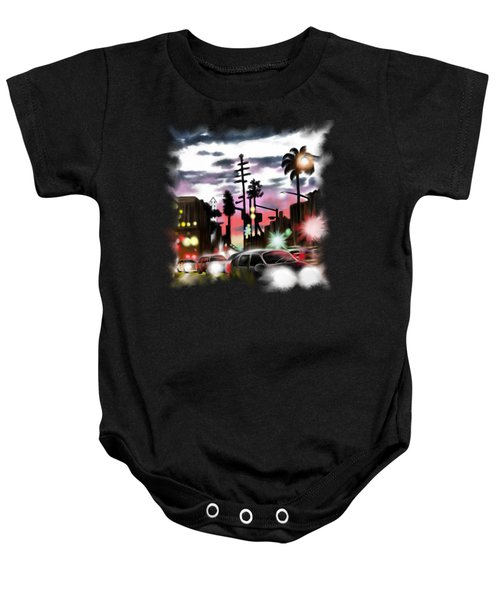 Restless City Baby Onesie