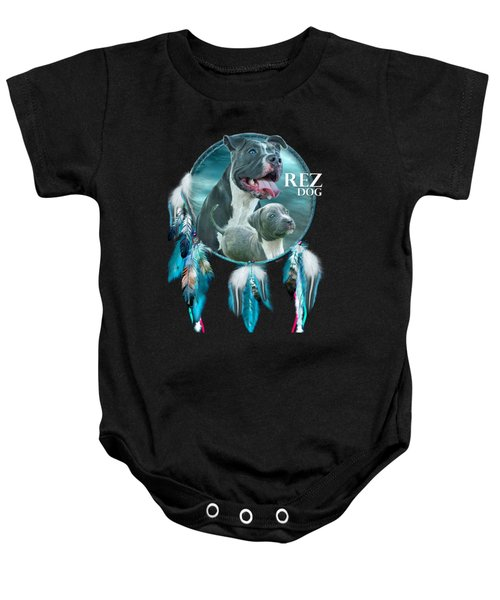Rez Dog Cover Art Baby Onesie