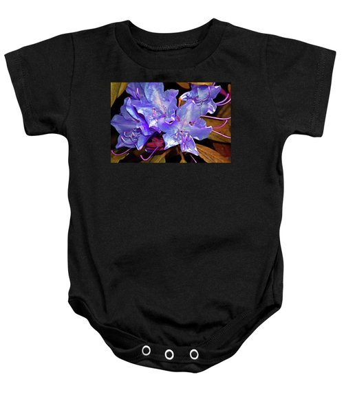 Rhododendron Glory 6 Baby Onesie