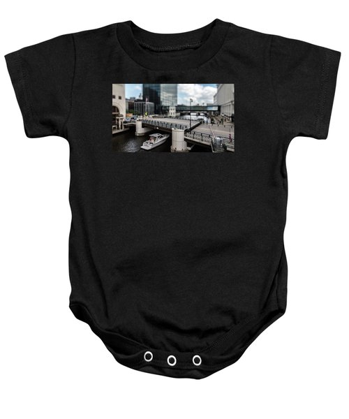Rich People Holding Up Traffic In The Itty-bitty-city Baby Onesie
