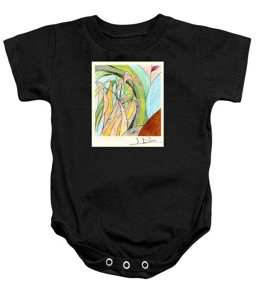 River Grass Baby Onesie