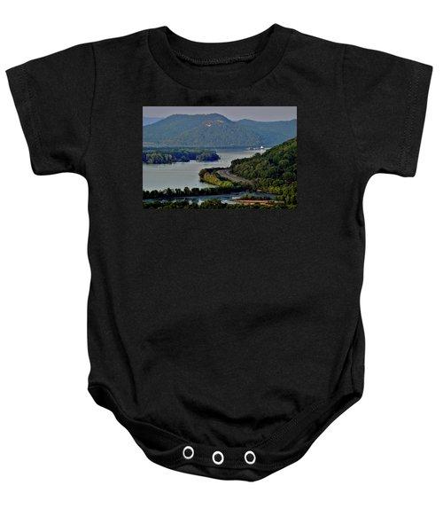 River Navigation Baby Onesie