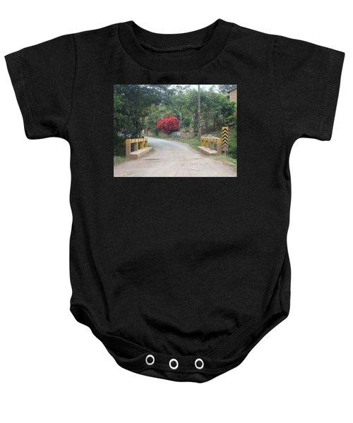 Road 1 Baby Onesie