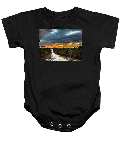 Road Into The Pinelands Baby Onesie