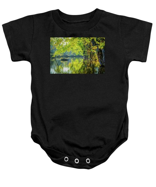 Rock At Sunrise Baby Onesie
