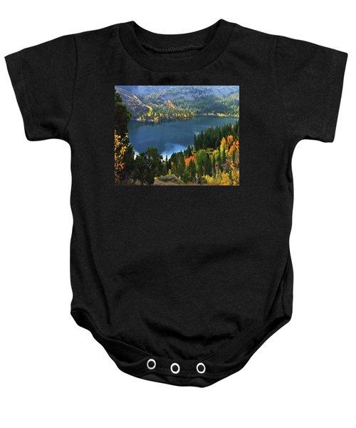 Rock Creek Lake In Fall Baby Onesie