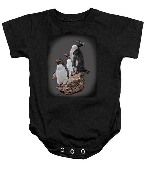 Rockhopper Penguins Baby Onesie