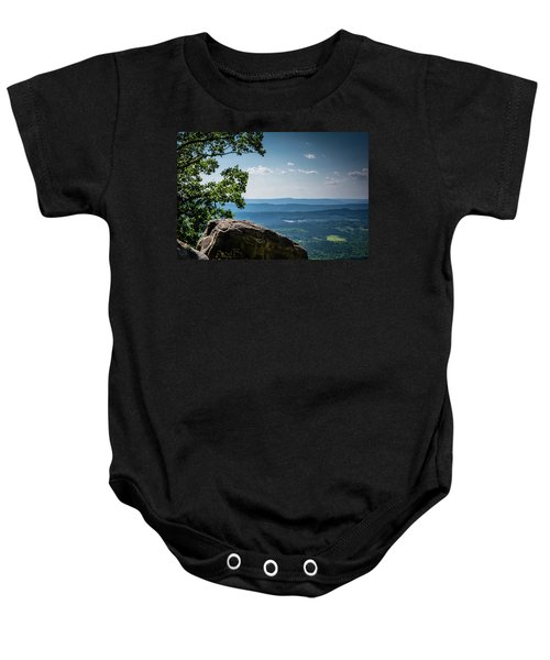 Rocky Perch Baby Onesie