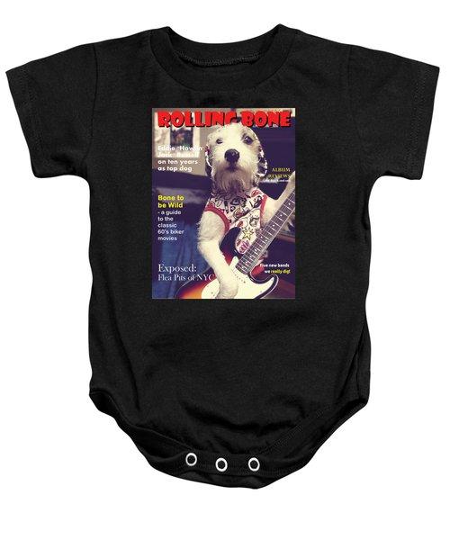 Rolling Bone Magazine Baby Onesie