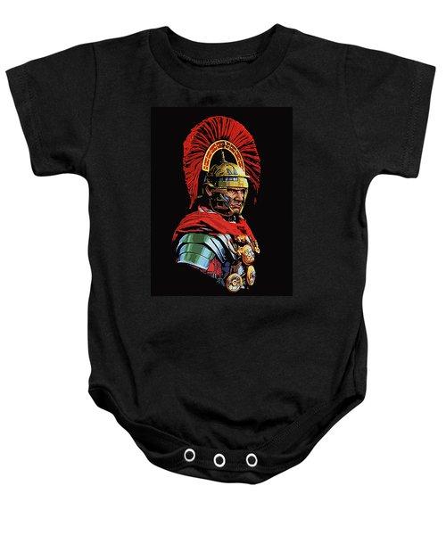 Roman Centurion Portrait Baby Onesie