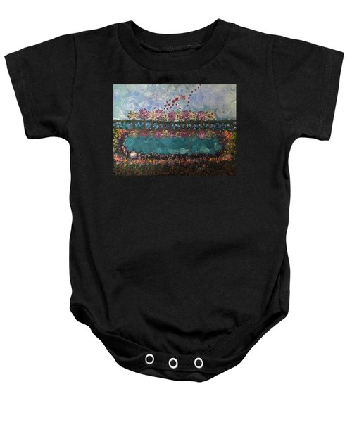 Roots And Wings Baby Onesie