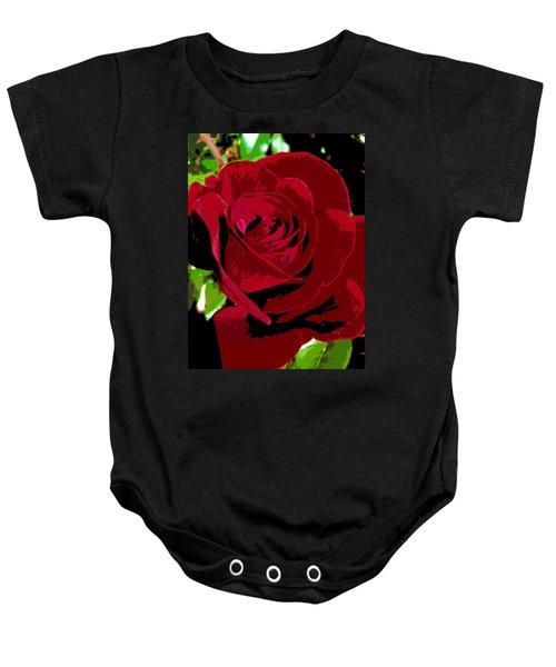 Rose Bloom Baby Onesie